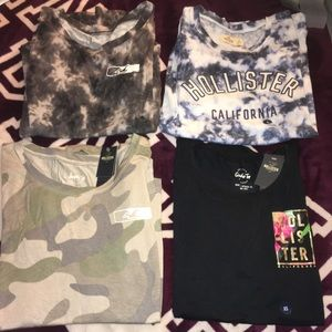 Hollister Graphic Tees
